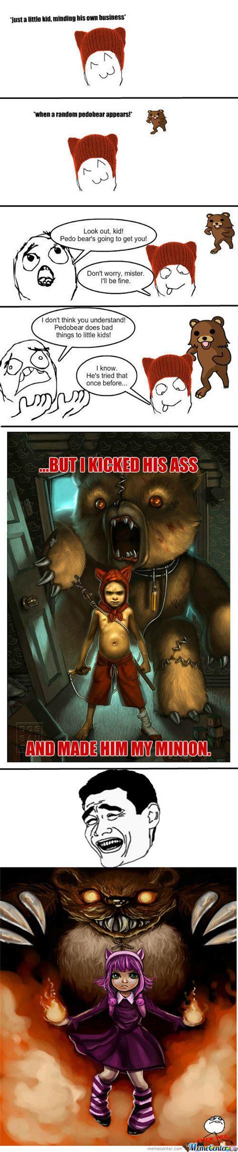 Rmx Look Out Its Pedobear By Imdamian Meme Center