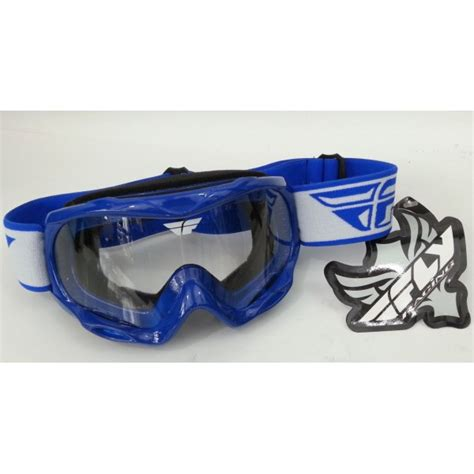 youth motocross goggles fly racing focus youth motocross goggle blue
