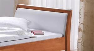 Polster Für Bett Kopfteil : hohes bett f r senioren aus buche seniorenbett bormio ~ Markanthonyermac.com Haus und Dekorationen