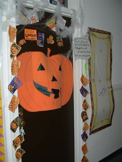 door decorations halloween images
