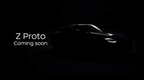 2021 Nissan Z Proto Officially Teased Ahead Of September ...