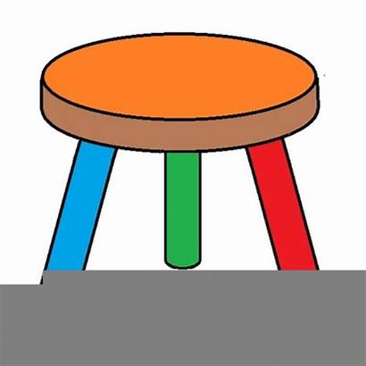 Clipart Stool Legged Rating Clip Clker