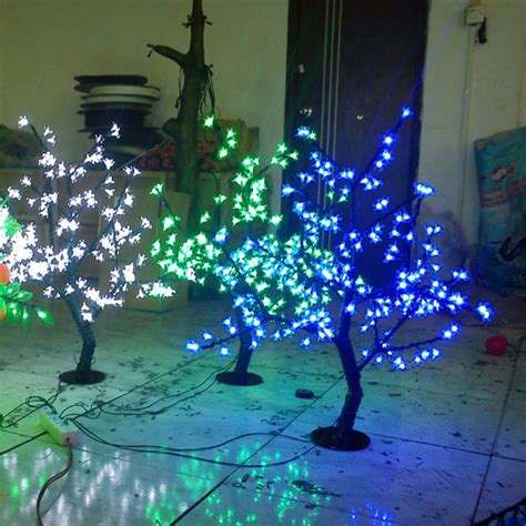 0 8meter 200leds artificial cherry led blossom tree with