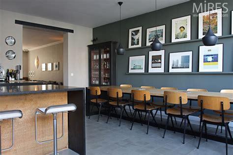 carrelage cuisine restaurant une cantine vintage