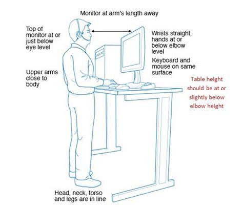 benefits of sit stand desk sit stand desks ohs information sheet occupational