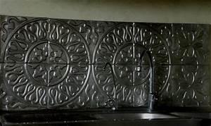 Plaque Décorative Murale : cr dence en m tal repouss dosseret decorateur paris ~ Preciouscoupons.com Idées de Décoration