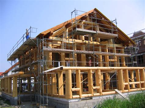 Fachwerkhaus Altbewaehrte Konstruktion by Fachwerk Blockhaus Naturstammhaus Oder Holzhaus