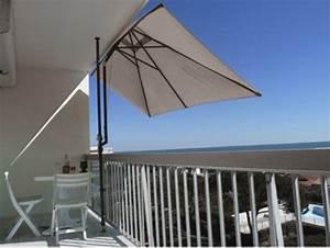 Parasol De Terrasse : leroy merlin parasol de balcon viving ~ Teatrodelosmanantiales.com Idées de Décoration