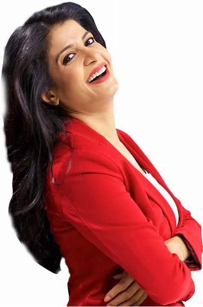 Anjana Kashyap Om Anchor Tak Aaj Profile