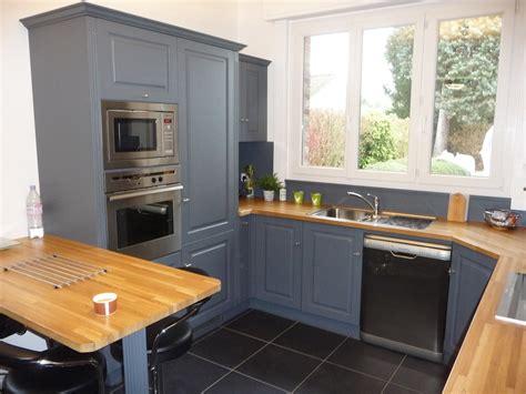 cuisine cottage cuisine equipée chêne gris clair cuisines liebart