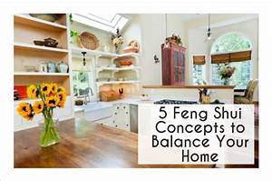 5 Feng Shui Concepts Balance & Restore Your Home