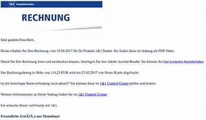 1 Und 1 Rechnung : 1 1 phishing ihre rechnung ist eine f lschung spam ~ Themetempest.com Abrechnung