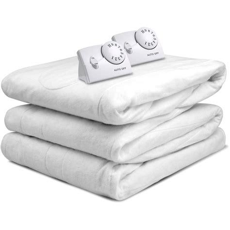size heated mattress pad heated mattress pad warm cozy bedding heater cushion cover