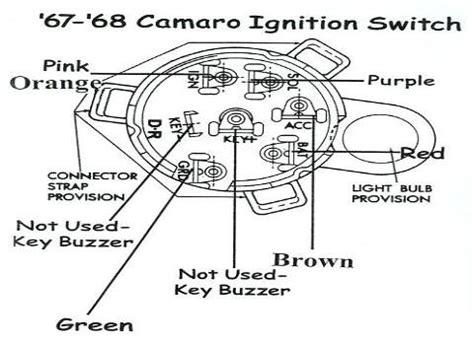 Camaro Ignition Switch Wiring Team Tech
