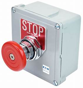 Heavy Duty - Emergency Stop - Switches