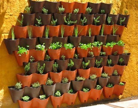 vaso modular parede  jardim vertical   em