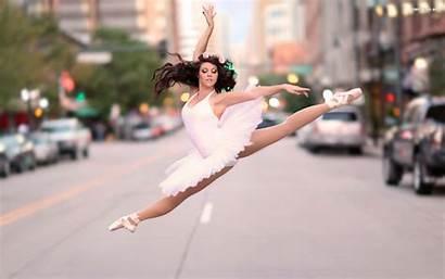 Balet Taniec Kobieta Dance Muzyka Tapety Miasto