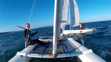 Catamaran For Sale Isle Of Wight by Shanklin Sailing Club Videos Of Sailing At Shanklin On