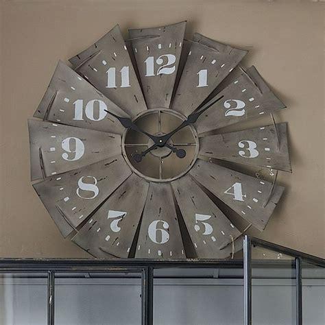 old windmill fan blades for sale windmill clock windmills and rustic on pinterest