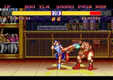 comparing  bit   bit games super street fighter ii
