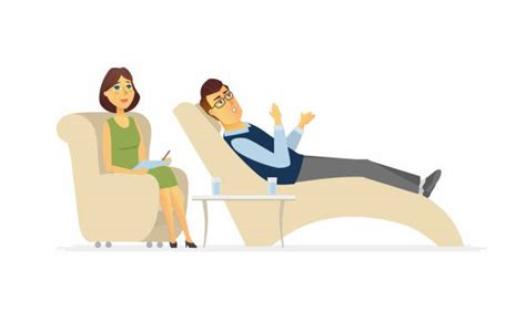Royalty Free Psychiatrist's Couch Clip Art, Vector Images