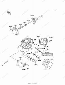 Kawasaki Atv 2002 Oem Parts Diagram For Carburetor  Parts