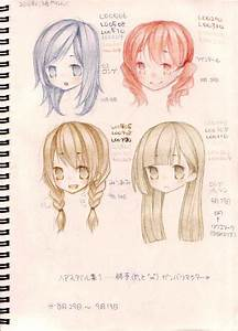 hairstyles by ninapon on DeviantArt