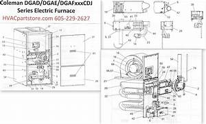 Coleman Gas Furnace Diagram   27 Wiring Diagram Images  Wesco Electric Furnace Parts