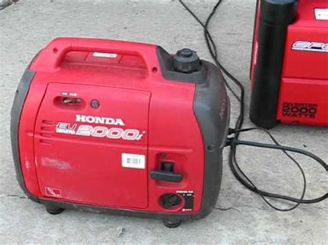 review cpe generator  watt inverter  honda eui