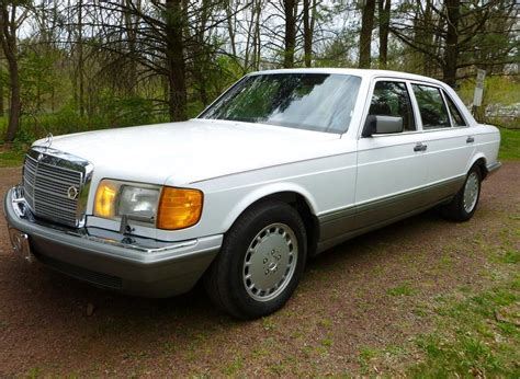 how to learn everything about cars 1986 mercedes benz s class interior lighting 1986 mercedes benz 420sel german cars for sale blog