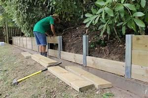 6 facons de retenir la terre dans son jardin jardins With maison en palette plan 15 charpente bois toit plat mzaol