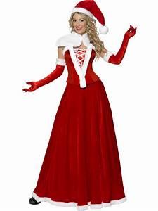 Déguisement Mère Noel Femme : luxury mother christmas costume for women adults costumes and fancy dress costumes vegaoo ~ Melissatoandfro.com Idées de Décoration