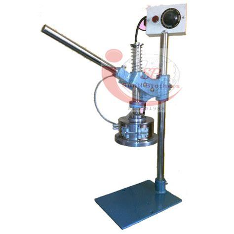 bottle cap sealing machine manufacturer exporter sb india
