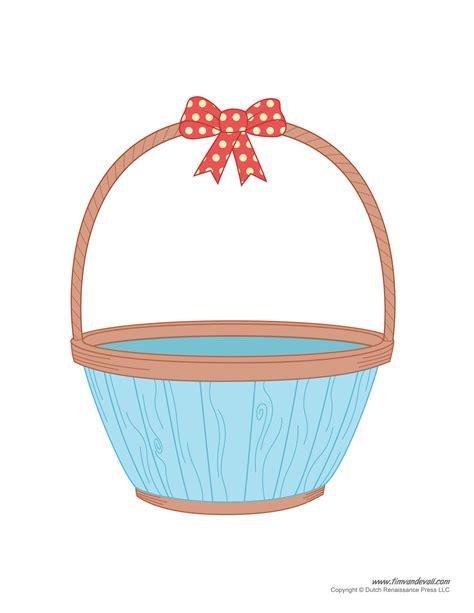Basket Clipart Easter Basket Template Easter Basket Clipart Easter Craft