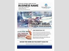 Printable MS Word Business Flyer Office Templates Online