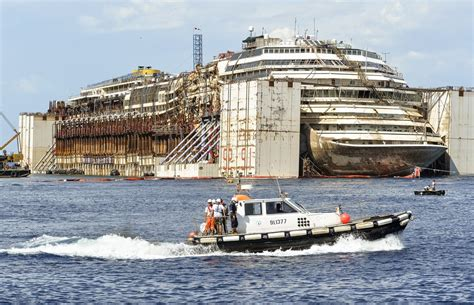 Final Voyage Of The Costa Concordia - The Atlantic