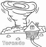 Tornado Coloring Pages Printable Sheet Cartoon Sheets Drawing Tornados Natural Air Disasters Tornadoes Coloringtop Drawings Wind Preschool Worksheets Oz Draw sketch template