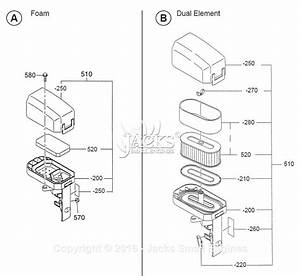 Robin  Subaru Ex27 Rev 09  08  Parts Diagram For Air Cleaner I
