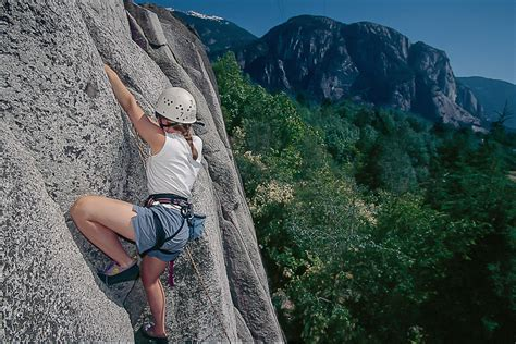 Guided Rock Climbing Squamish Canada