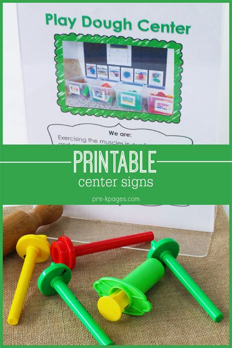 printable center signs for preschool pre k and kindergarten 524 | Printable Center Signs
