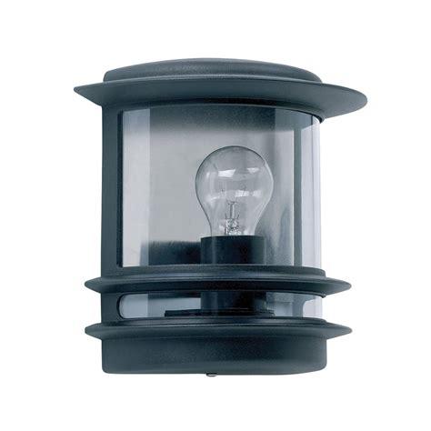 endon yg 5500 cambridge black outdoor flush mounted wall light