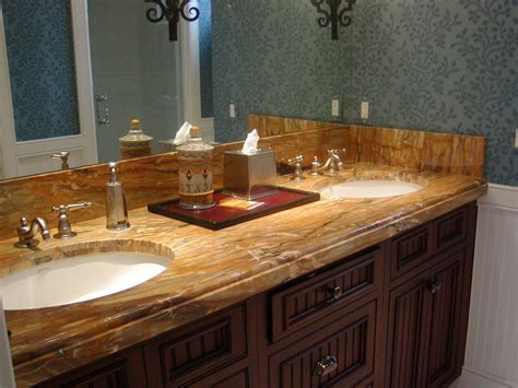 custom bathroom vanity tops with sinks sidesplash and how it meets up with the ogee edge on the