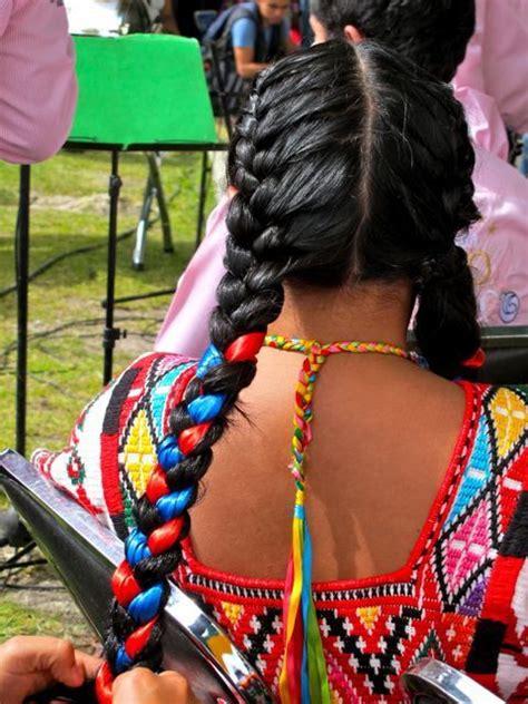 mexican braids mexican hairstyles mexican women hair