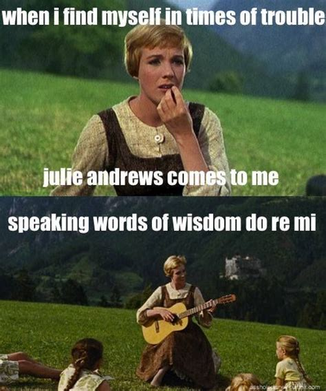 Music is a safe kind of high. Ahh yes. | Sound of music quotes, Sound of music meme ...