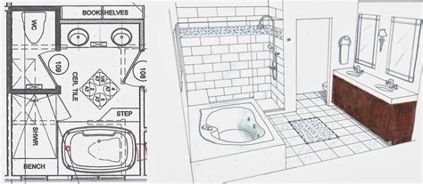 bathroom floor plan layout fiorito interior design the luxury bathroom by fiorito