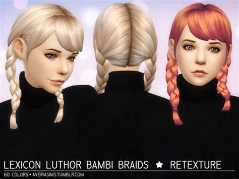clay hair retextures  aveira sims  sims  updates