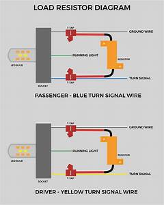 Motorcycle Led Indicator Resistor Wiring Diagram