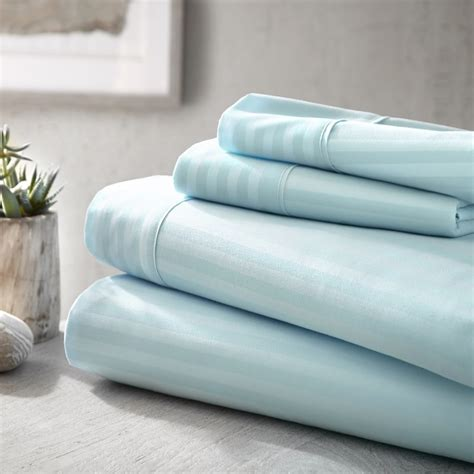 Sears Bed Sheets by Home Premium Ultra Soft Embossed Pattern 4