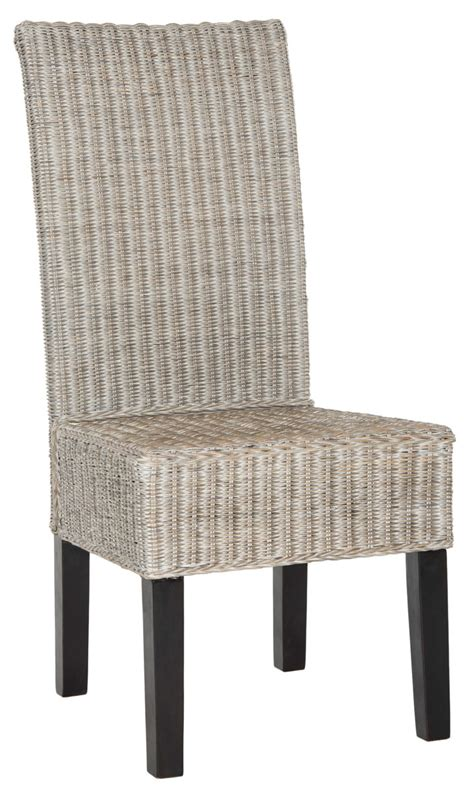 wicker kitchen furniture furniture grey rattan dining chairs archives gt kitchen