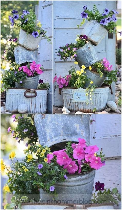 Ideas Decorate With Galvanized Buckets That Are Just